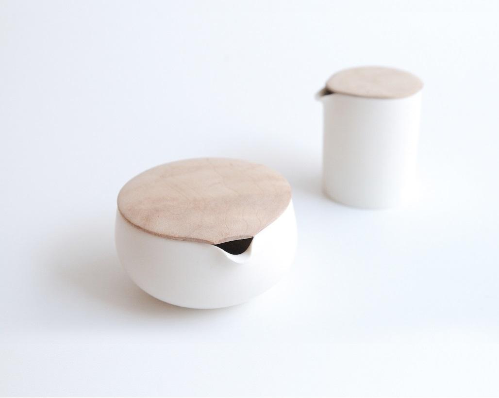 Les pots et contenants en porcelaine - Sfera