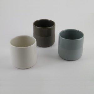 les gobelets en Grès gris Jars