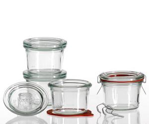 Les grands et authentiques bocaux de conserve en verre