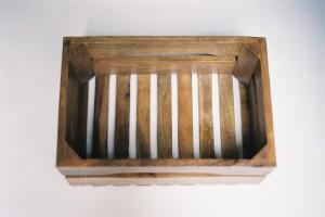 La caisse en bois de manguier