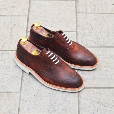 Pavés urbains et les chaussures en cuir fabriquées en France – Jacques et Déméter
