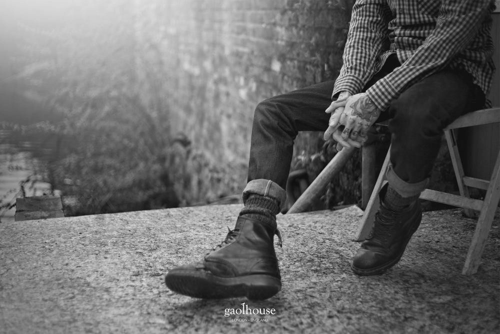 Les jeans Gaolhouse sont fait main