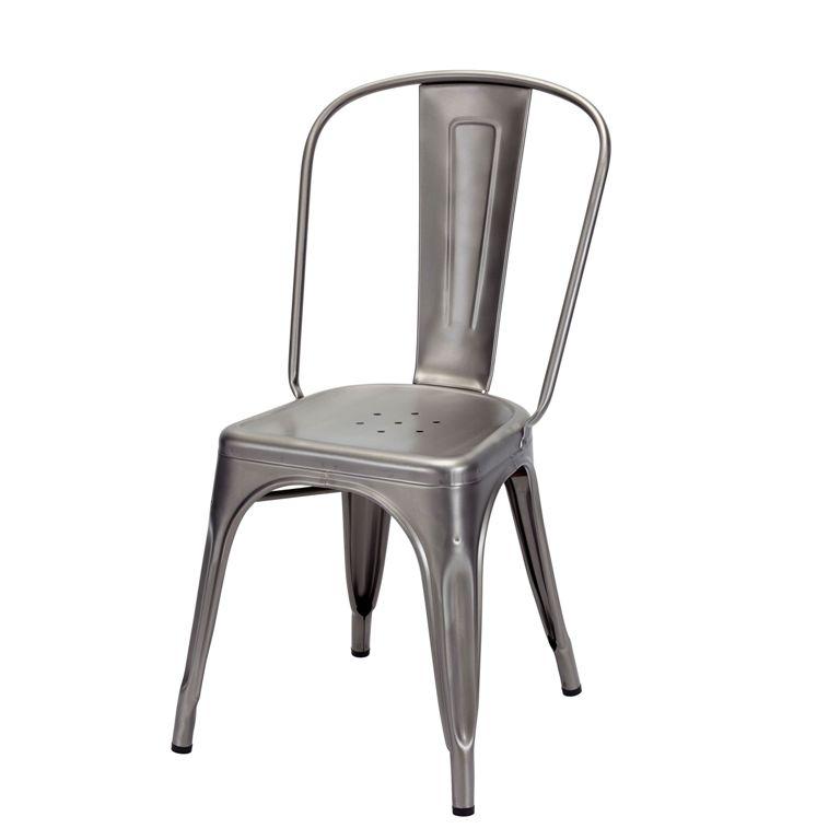La chaise en métal - Tolix
