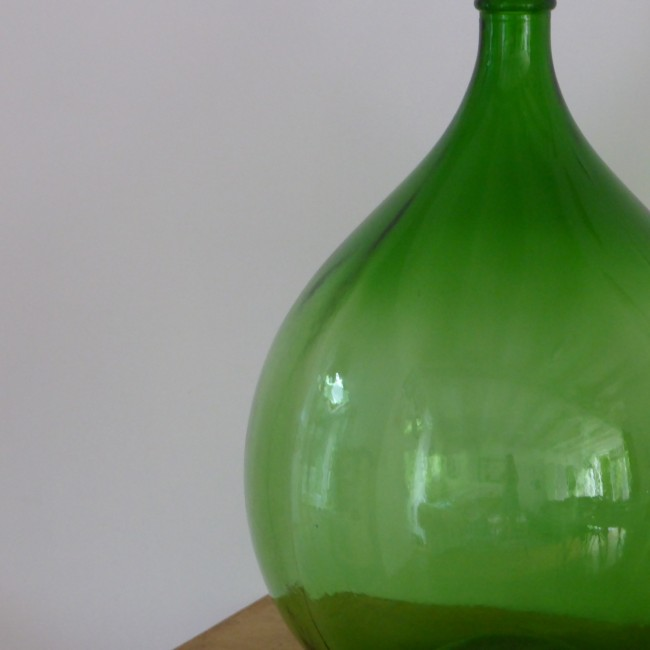 Le vert de la dame jeanne