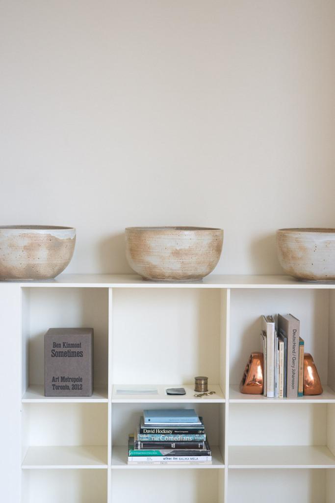 Bols ronds en céramiques clairs - Sarah Kersten