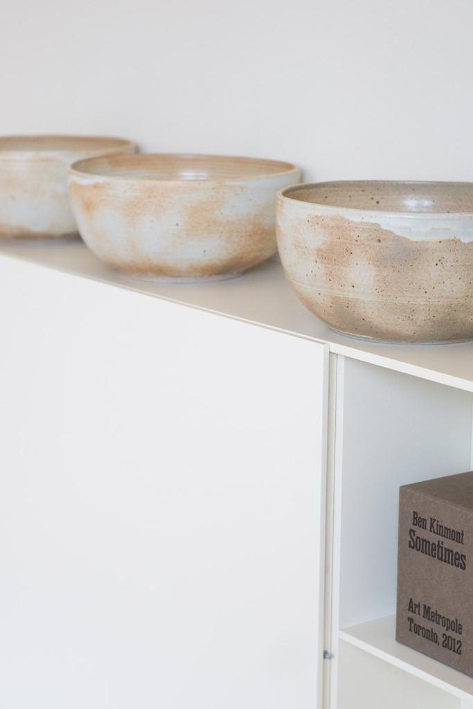 Séries de bols en grès - Sarah Kersten