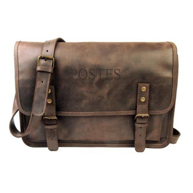 Les sacoches en cuir fabriqués en France - Code Postal