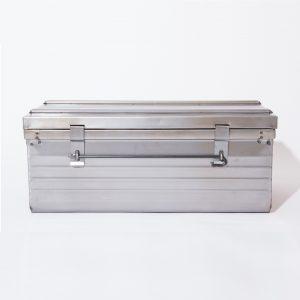 Malle métallique 100x55x40cm