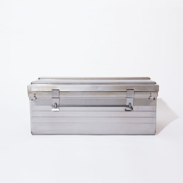 Malle métallique 80x45x36cm