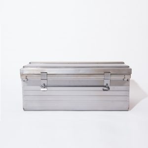 Malle métallique 90x50x39cm
