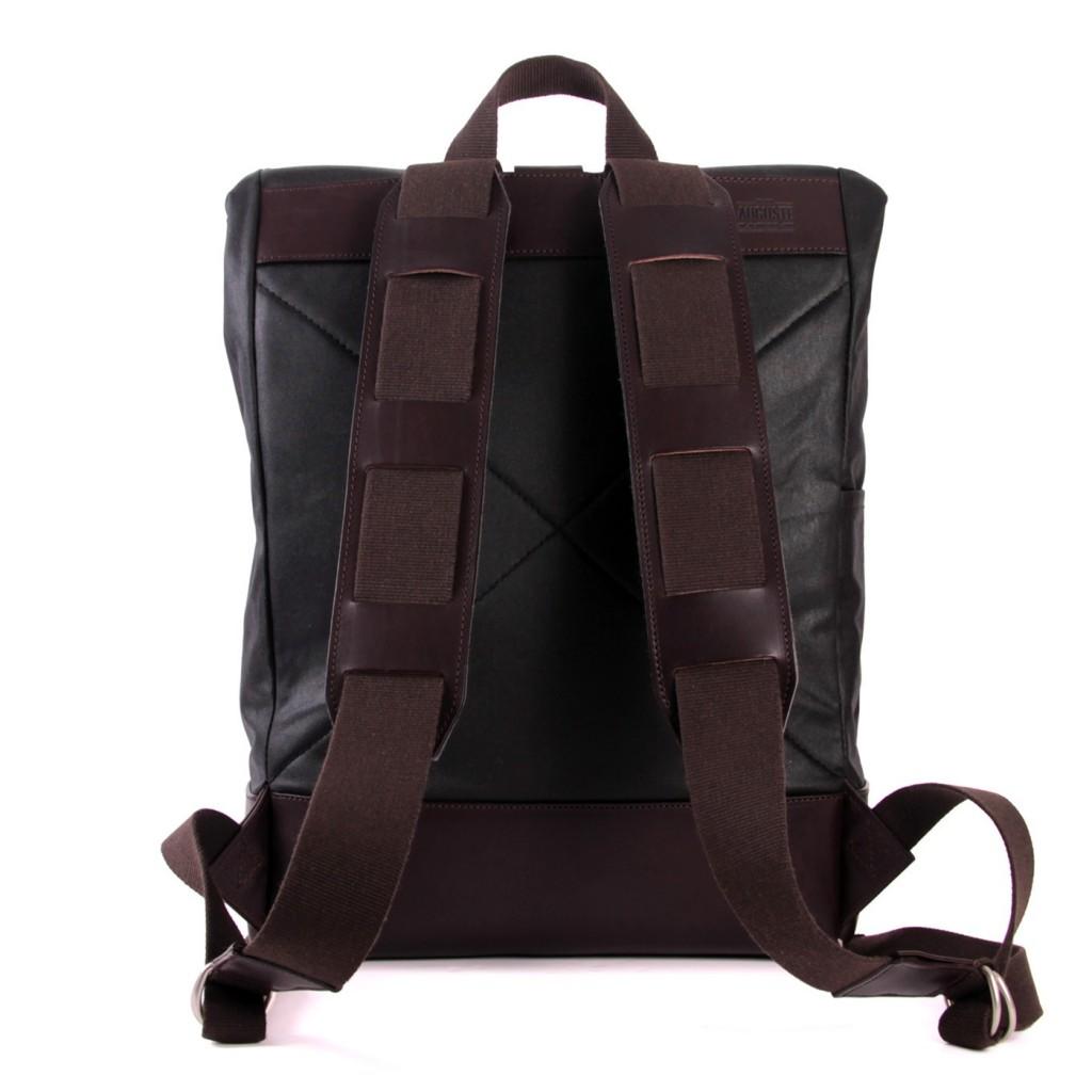Le sac à dos en cuir avec lannières - Ateliers Auguste