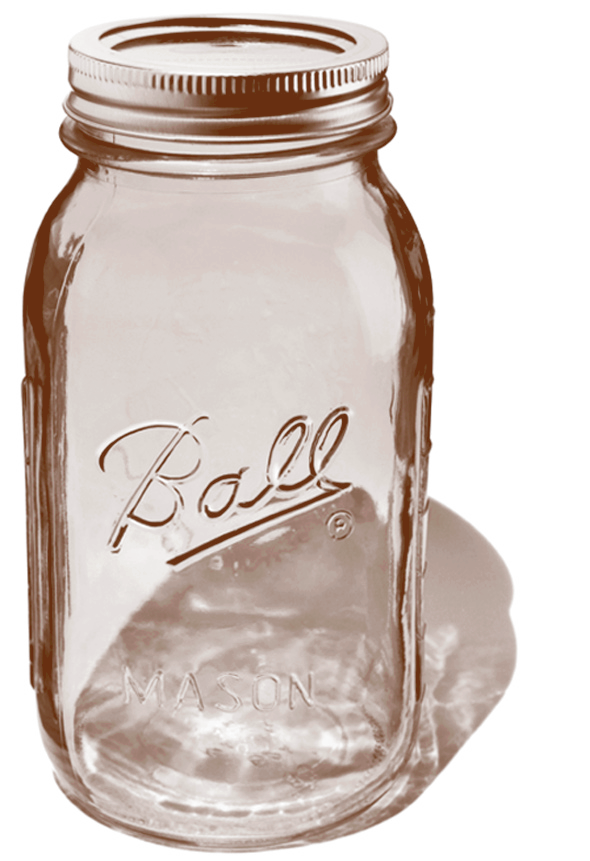 Le pot mason jar de Ball