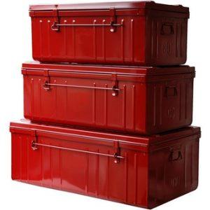 Kit de malle rouge
