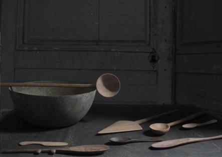 cuillère et bol en bois kirsten hecktermann