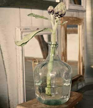 dame Jeanne vert Hübsch 27 x 43 vase