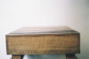 Le bois de la caisse