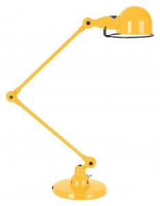 lampe jielde 2 bras jaune