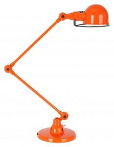 lampe jielde 2 bras orange
