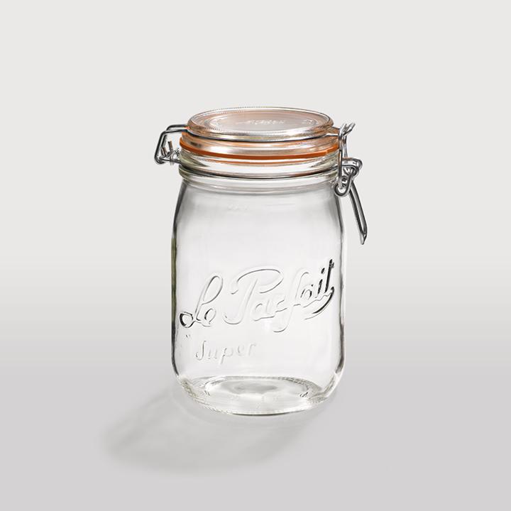 le bocal en verre le parfait