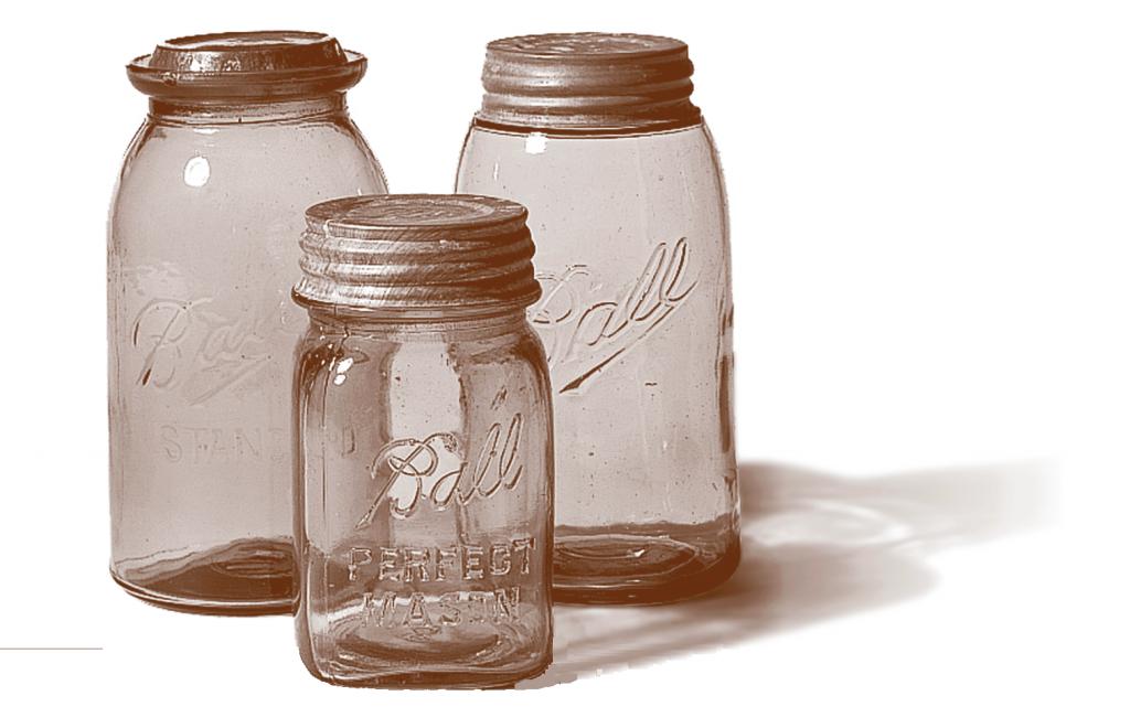 les authentiques et originaux mason jar Ball