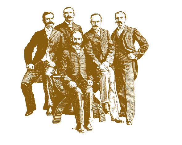 les frères mason à l'origine du pot