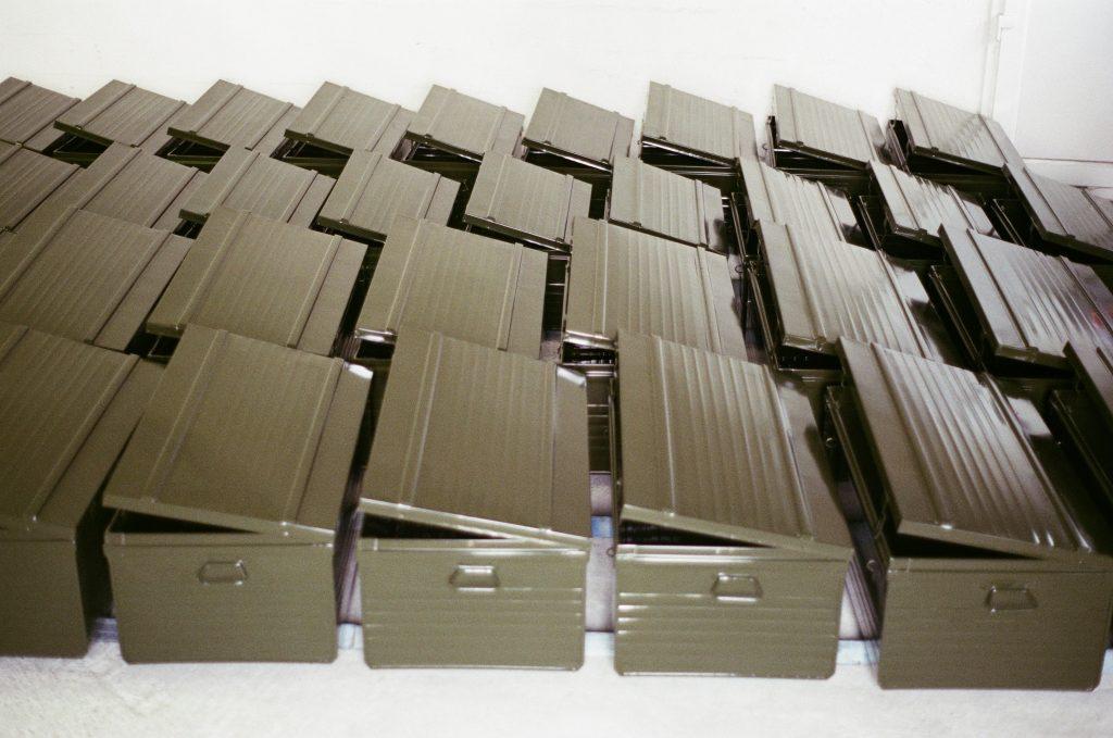malles métalliques