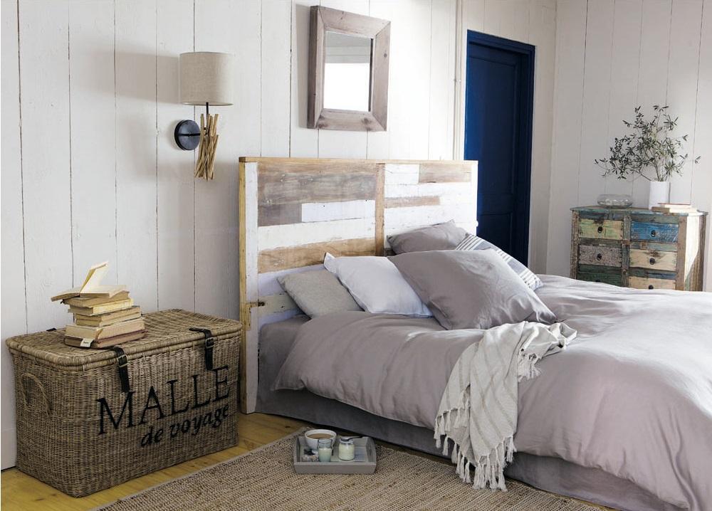la malle en osier maison du monde. Black Bedroom Furniture Sets. Home Design Ideas
