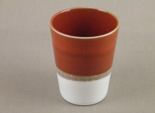 mugs jars touge et blanc