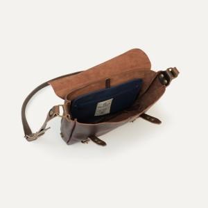 l'intérieur du sac en cuir fabrication française – Bleu de chauffe