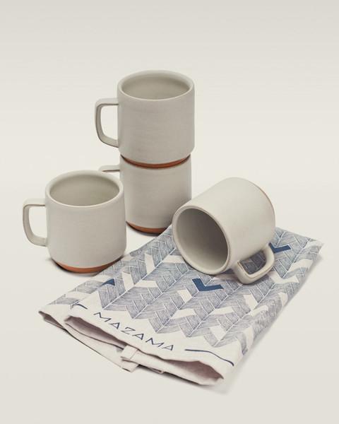 set de 4 tasses en céramique Azama
