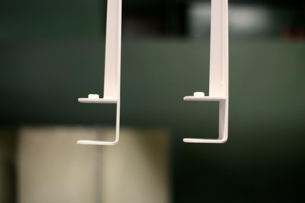 vue de près zoom Les pieds de table en métal - The Floyd Leg